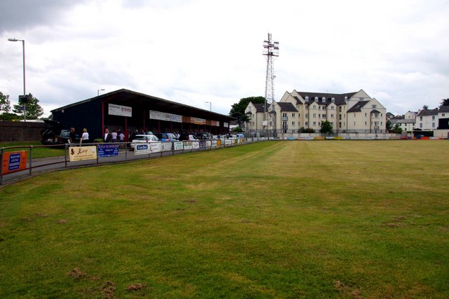 Car boot sale at the Sports Ground home of Bideford AFC