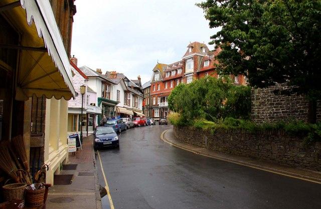 Church Hill in Lynton