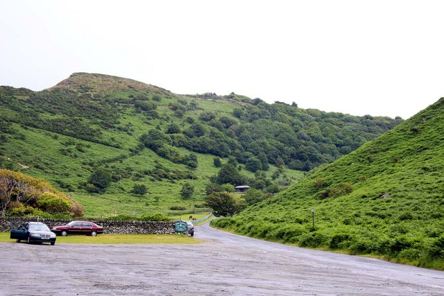 The road to Lynton
