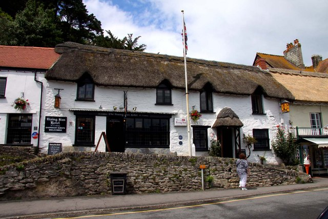 The Rising Sun Hotel in Lynmouth