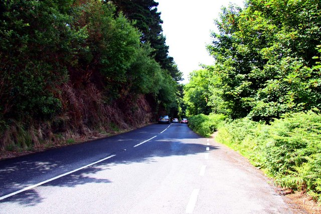 The A39 to Lynmouth