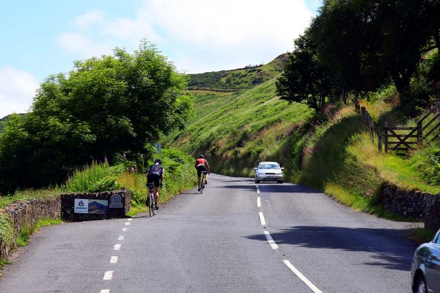 The A39 to Porlock