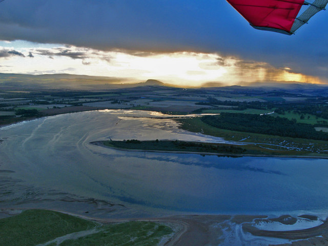 The Tyne Estuary from the air