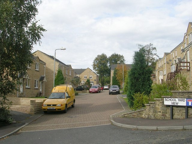 School Yard View - Range Lane