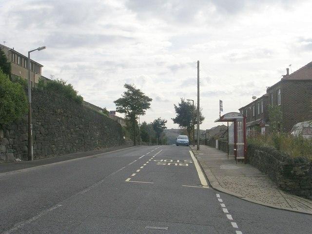 Claremount Road - viewed from Range Bank