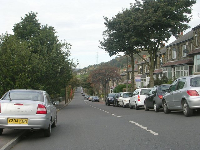 Claremount Road - viewed from Range Bank