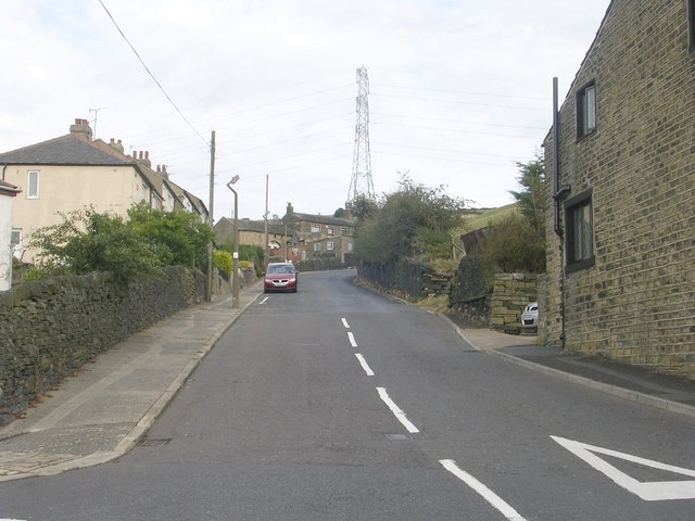 Bradford Old Road - Claremount Road