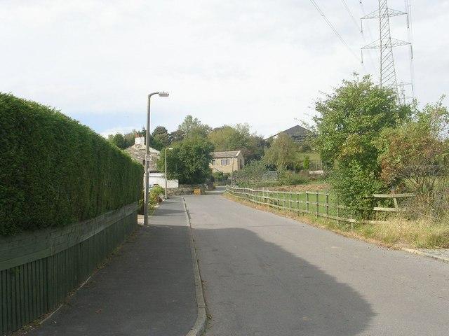 Jerwood Hill Road - Horley Green Road