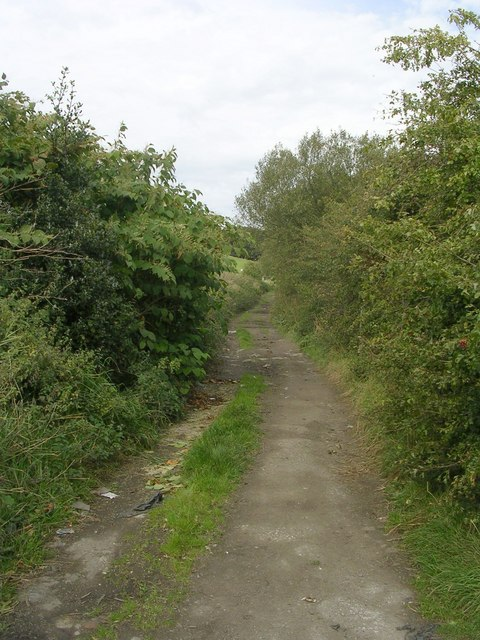 Footpath - leading from Horley Green Road