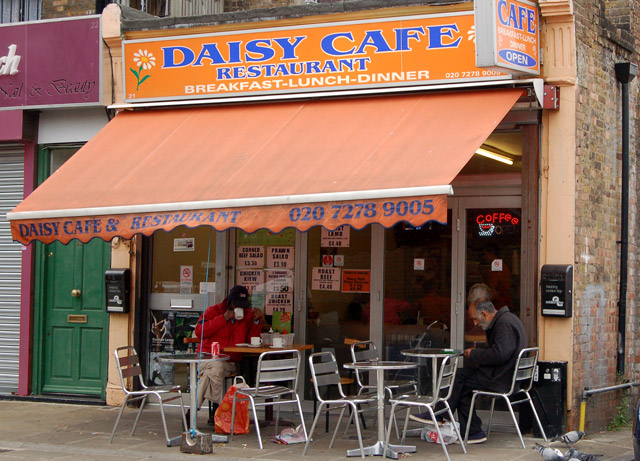 Daisy Cafe, White Conduit Street, Islington