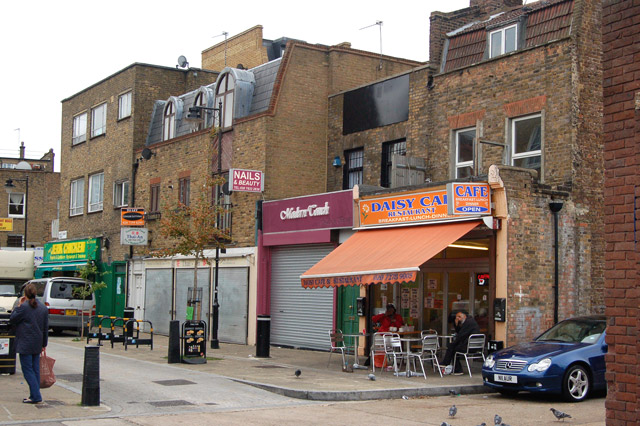 Looking soputh along White Conduit Street, Islington