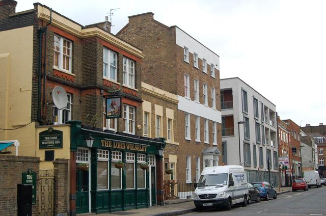 Lord Wolseley public house, White Lion Street, Islington