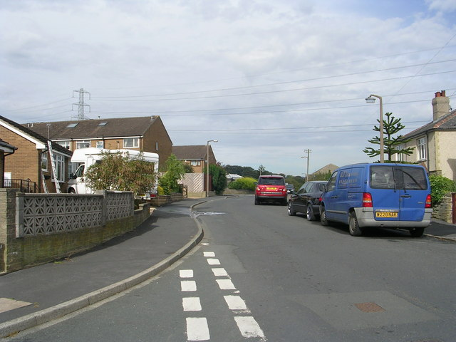 Horley Green Road - viewed from Belgrave Avenue