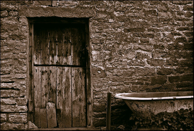 Barn Door, Castleton, Derbyshire.