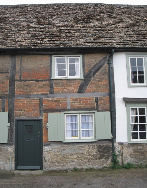 Timber-Framed Cottage at Lacock