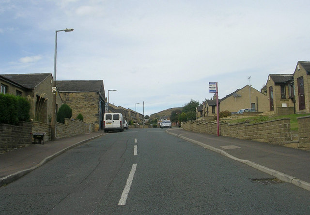 Claremount Road - viewed from Horley Green Road
