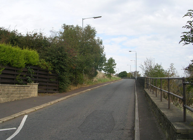Horley Green Road - viewed from Claremount Road