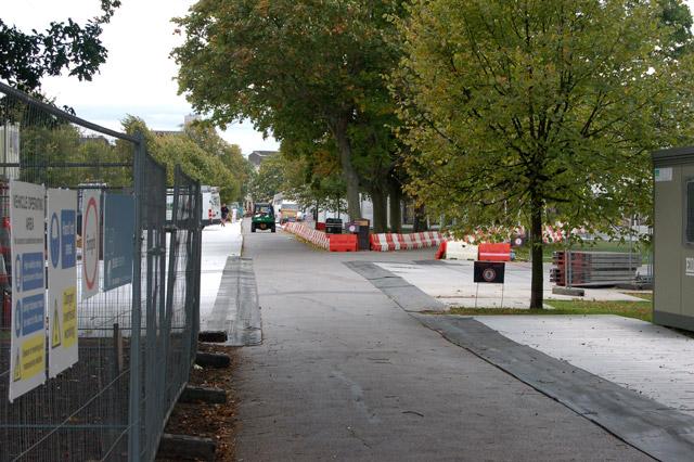 Preparing for Frieze Art Fair, Regents Park (1)
