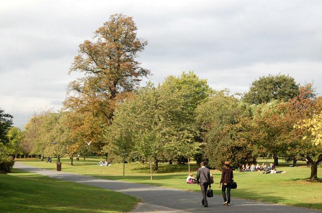 A quiet corner of Regents Park