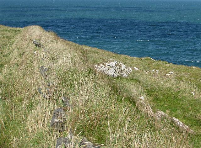 Clifftop wall
