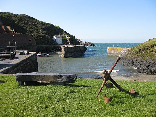 Rusting anchor, Porthgain