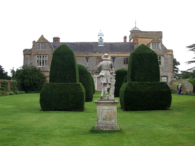 Canons Ashby Manor House
