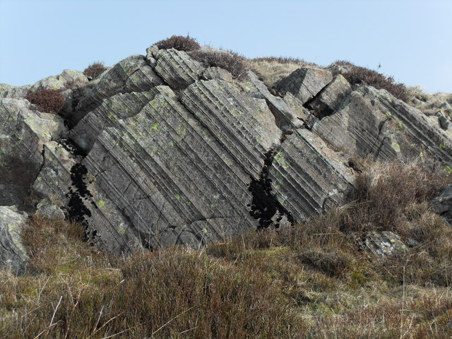 Rock Outcrop, Hare Shaw