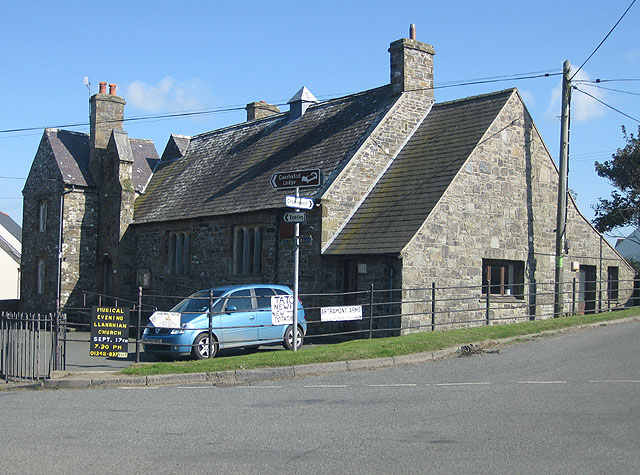 Former school at Llanrhian