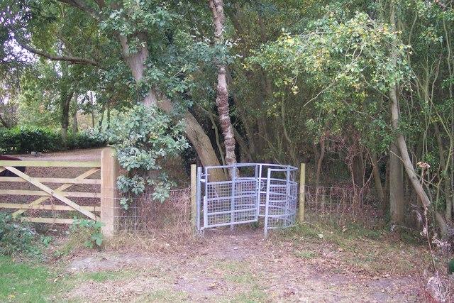 Kissing Gate on Broomfield Gate road, Radfall