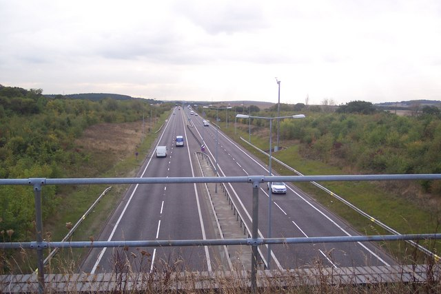 The A299 Dual Carriageway to Whitstable