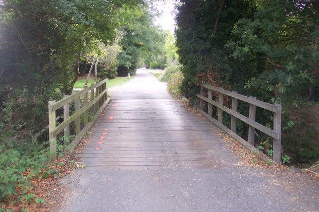 Bridge on Grasmere Road, Chestfield