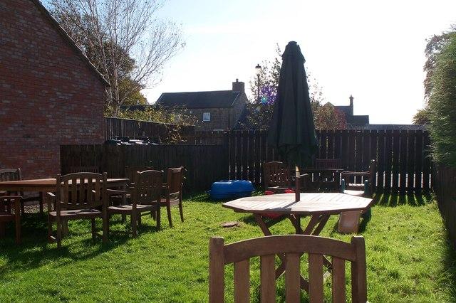 The Coffee Shop Garden in Longframlington