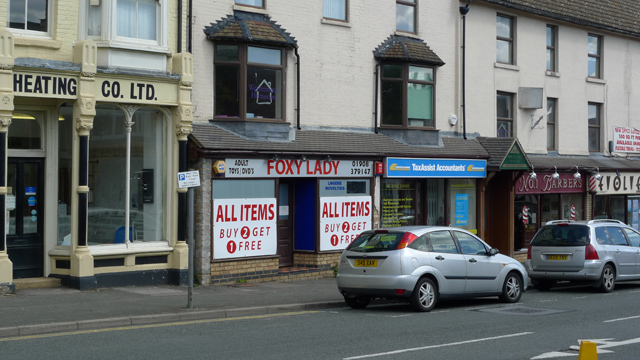 Foxy Lady, High Street South, Fenny Startord