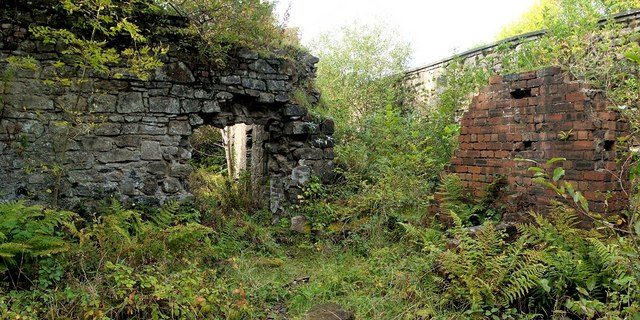 Ruins of stables
