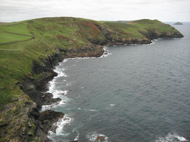 Derngate Cove from Scarnor Point