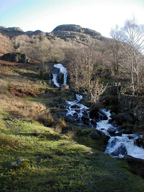 Angletarn Beck water falls