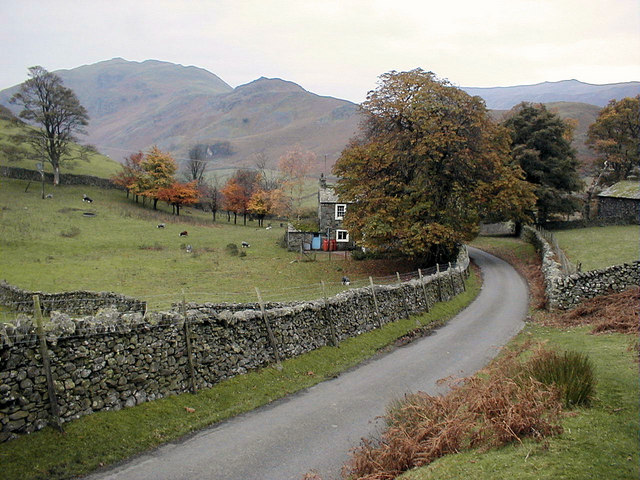 Approaching Martindale from Howtown