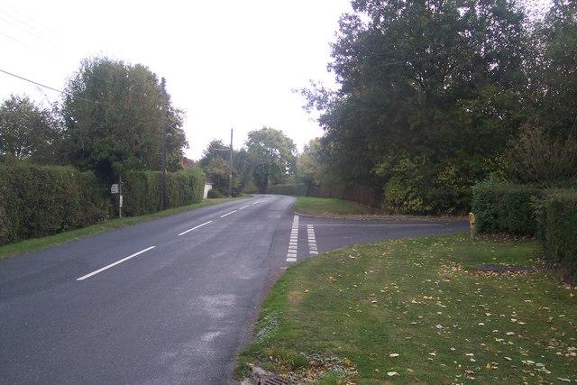 Frittenden Road junction, Lashenden