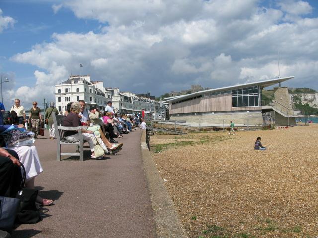 The promenade at Dover