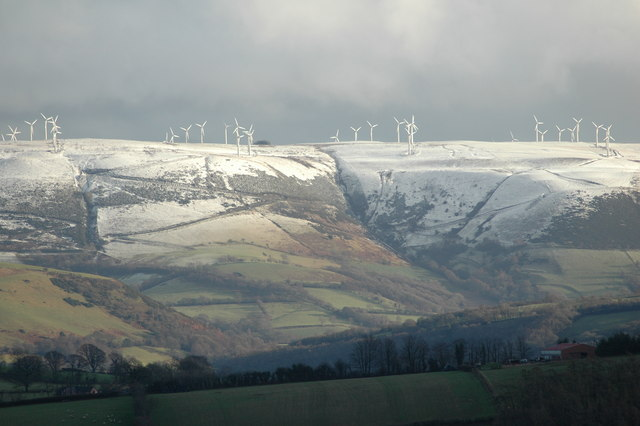 Llandinam wind farm