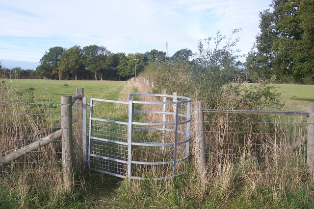 Kissing Gate near Cot Lane