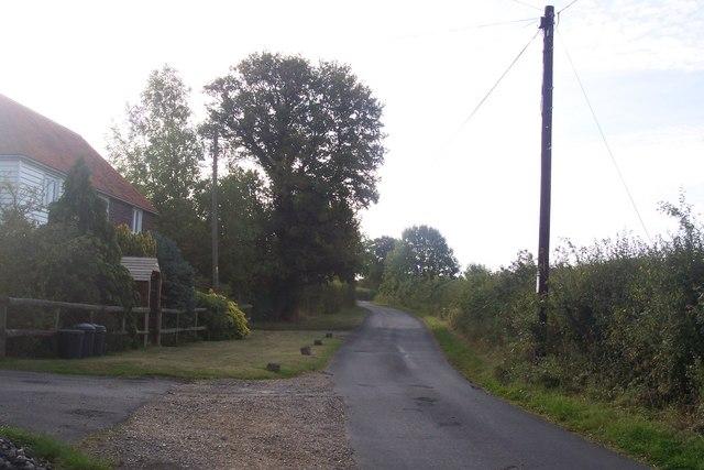 Cot Lane, near Longhouse Farm Cottages