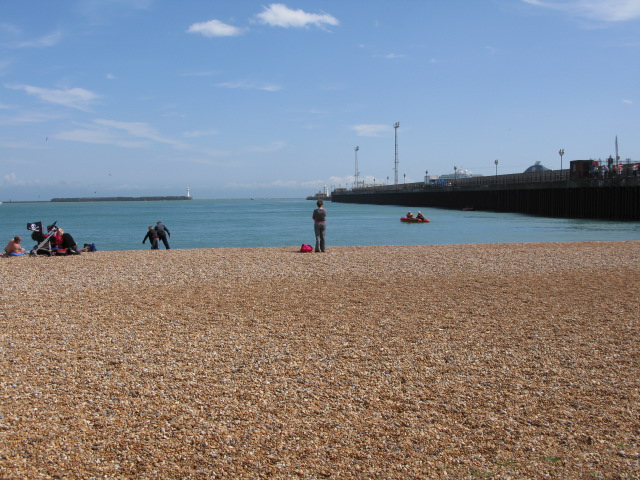 Dover harbour and Prince of Wales pier