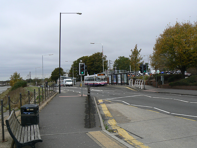 Benfleet station and bus stops