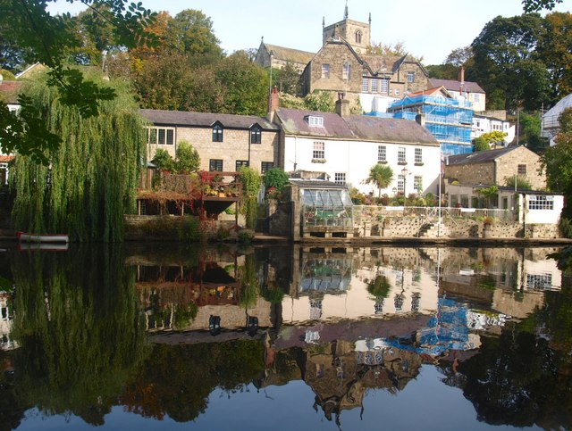 Reflections in the River Nidd