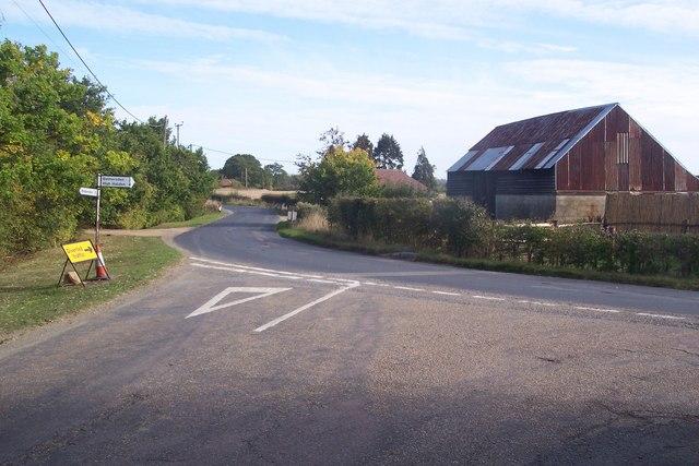 Pook Lane meets Bethersden Road