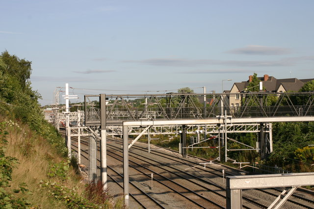 Train Route passing through Tamworth  (1)