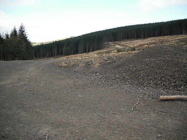 New road, Craig Hill