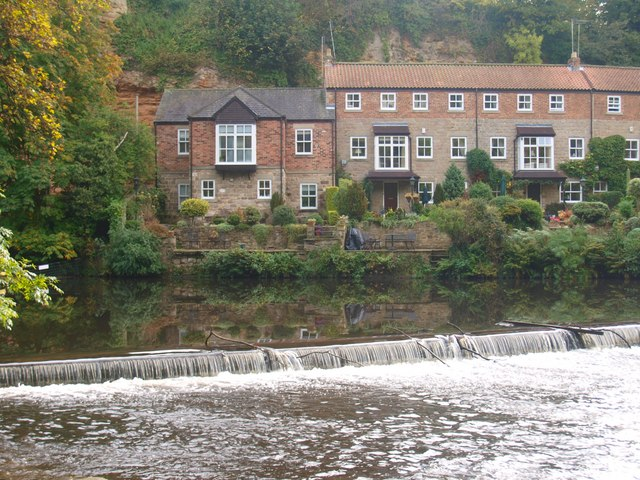 Weir on the River Nidd