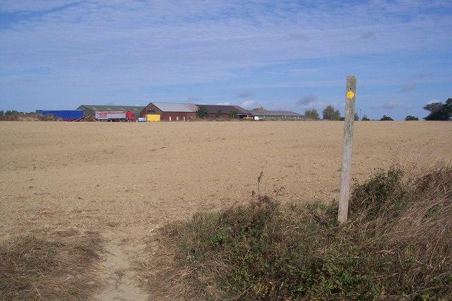 Footpath near New Luckhurst Farm